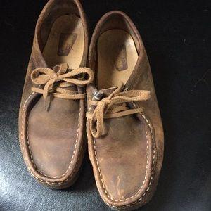Daughters Clark's originals shoes